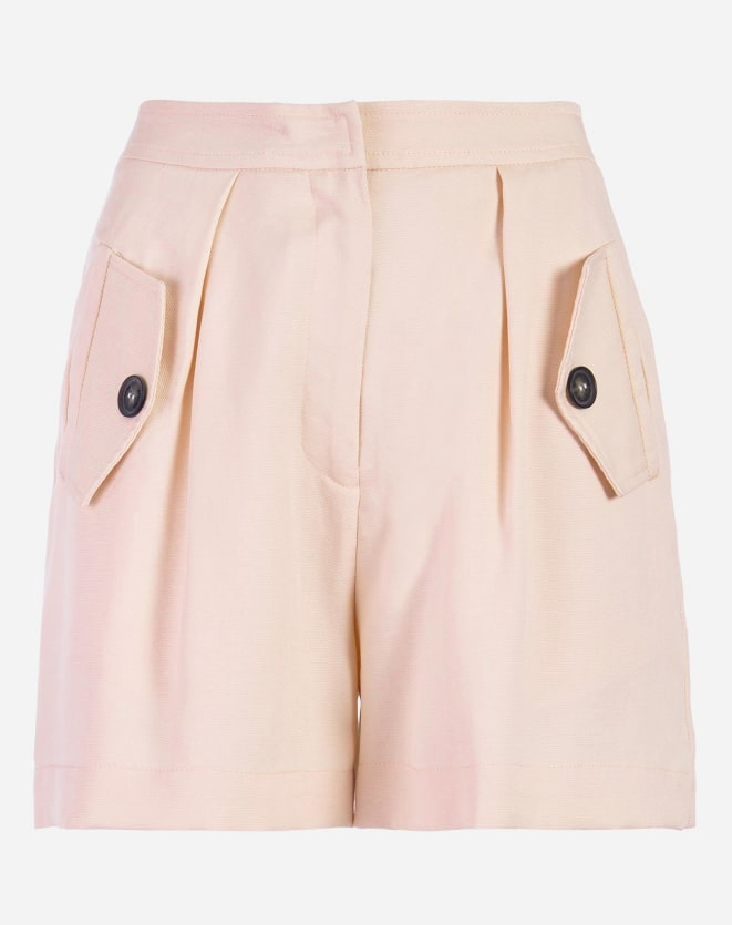 SHORTS WIDE TENCEL