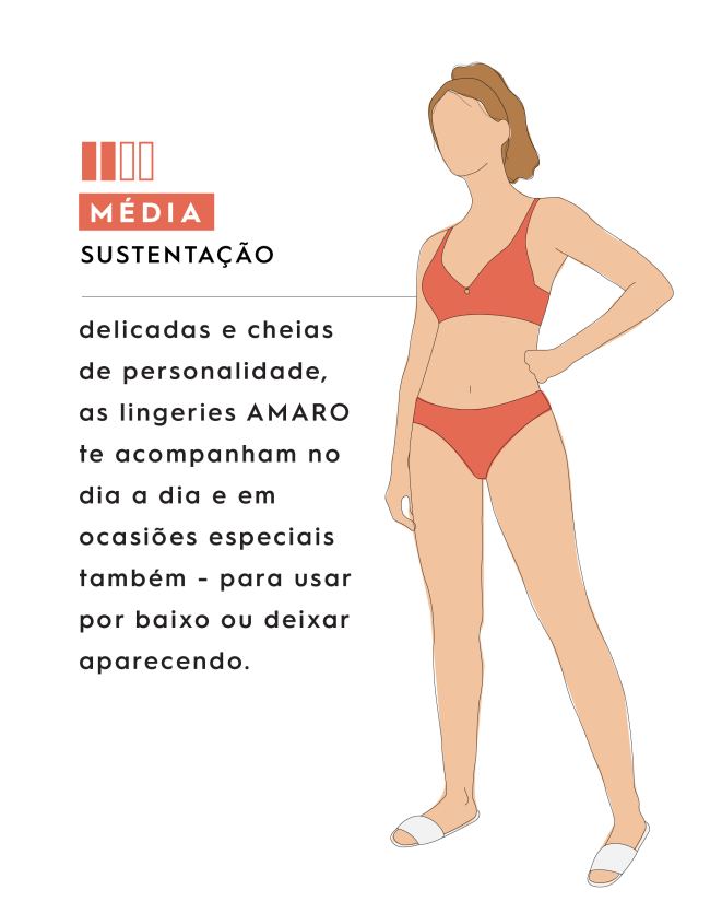 SUTIÃ ALONGADO DETALHES DE TIRAS