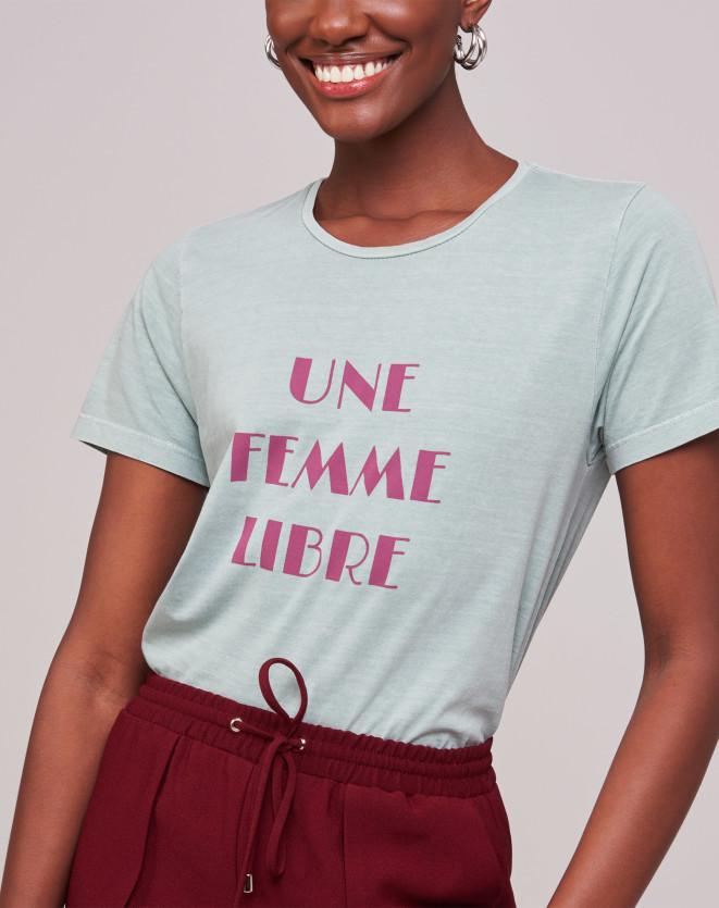 T-SHIRT UNE FEMME LIBRE