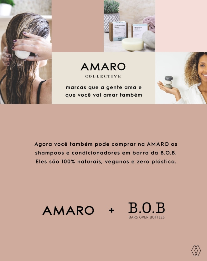 B.O.B KIT SHAMPOO EM BARRA PURIFICANTE & CONDICIONADOR EM BARRA HIDRATAÇÃO SUAVE