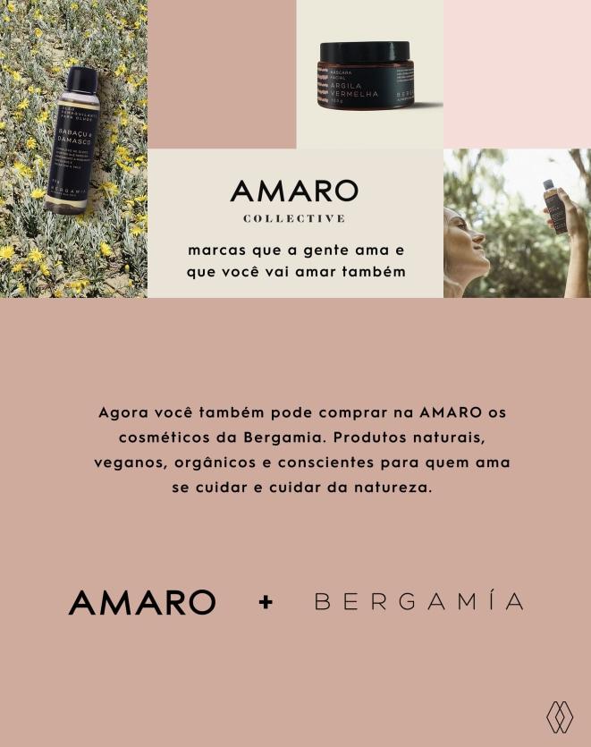 BERGAMIA ÓLEO DEMAQUILANTE DE BABAÇU E DAMASCO - 60ML