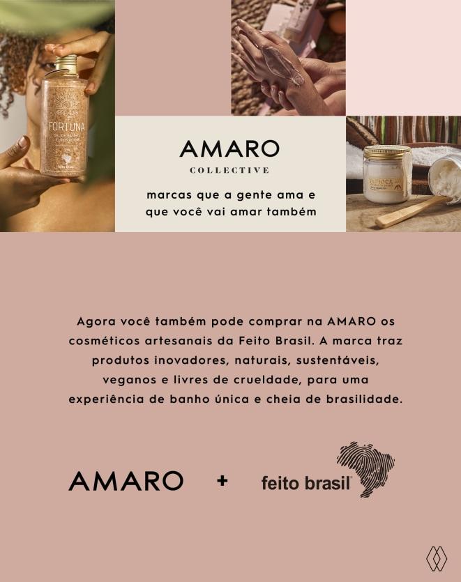 FEITO BRASIL ESPUMA HIGIENIZADORA - 60mL
