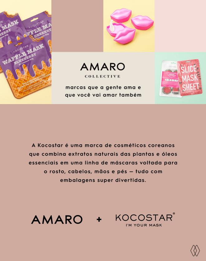 KOCOSTAR MÁSCARA KOCOSTAR DE HIDRATAÇÃO LABIAL
