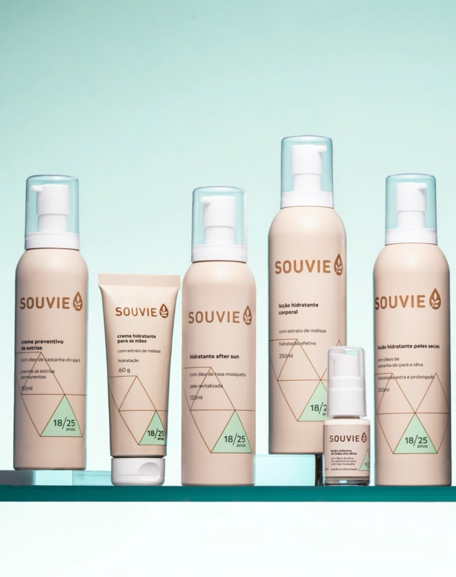 SOUVIE HIDRATANTE AFTER SUN - 120ML