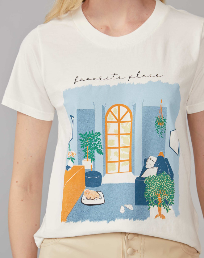 T-SHIRT FAVORITE PLACE