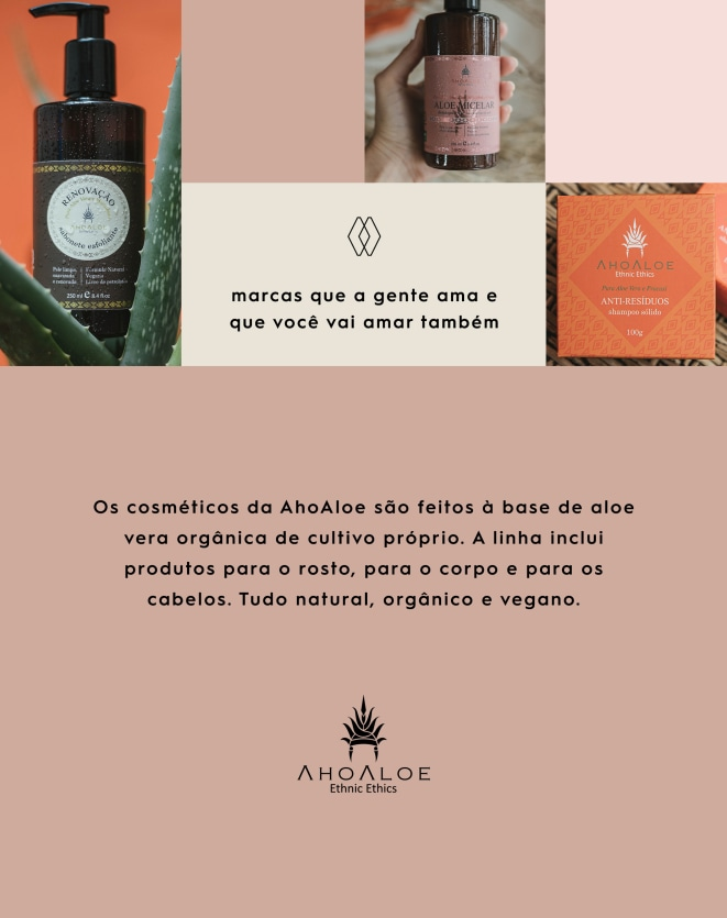 AHOALOE GEL DENTAL ALOE VERA E CARVÃO ATIVADO