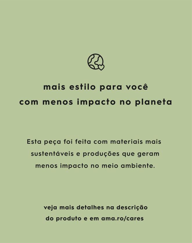 CALÇA RETA ALGODÃO DETALHE LATERAL