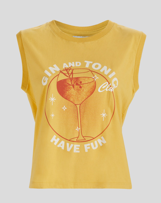 T-SHIRT REGATA GIN AND TONIC