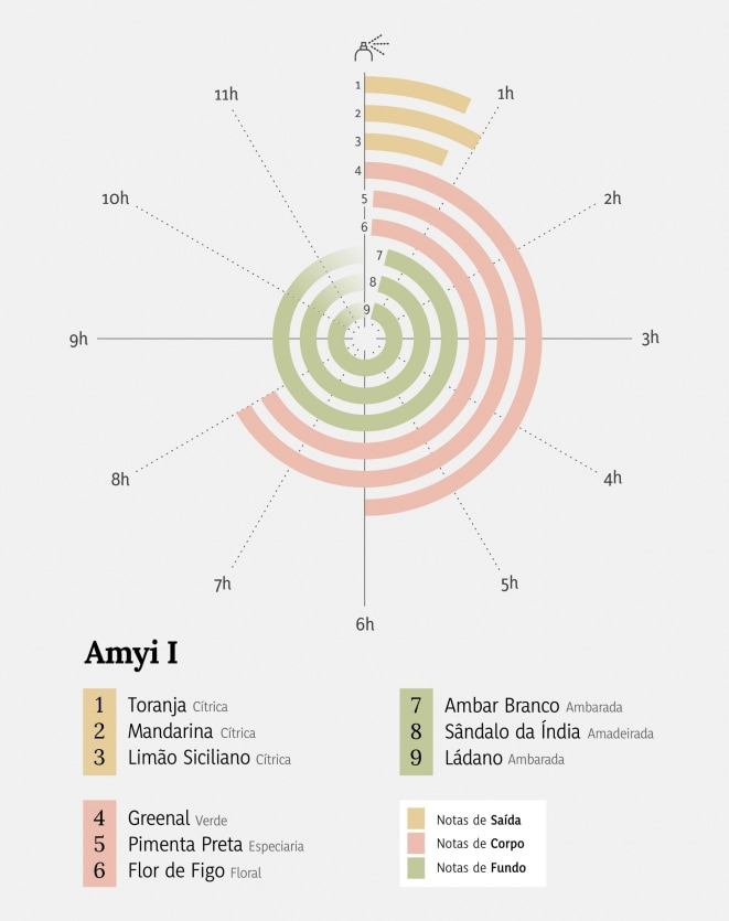 AMYI PERFUME -  100ML