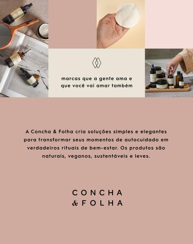 CONCHA E FOLHA MANTEIGA NEUTRA - 90G