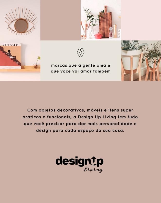 DESIGN UP LIVING CAPA DE ALMOFADA P&B 42X42