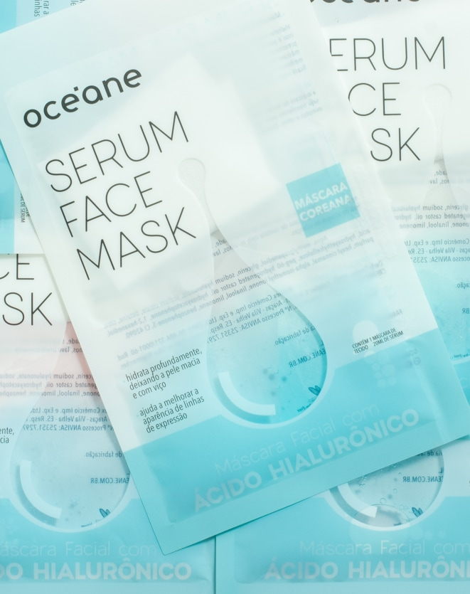 OCEANE MÁSCARA FACIAL - SERUM FACE MASK