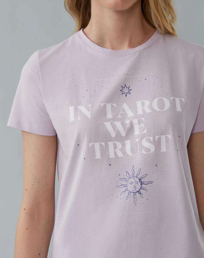 T-SHIRT IN TAROT WE TRUST