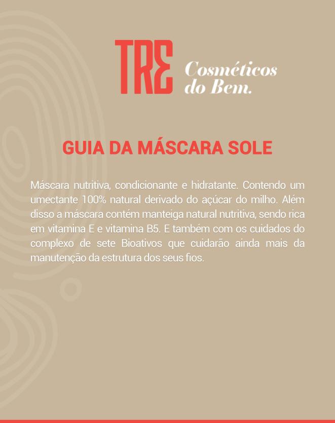 TRE MÁSCARA CAPILAR SOLE