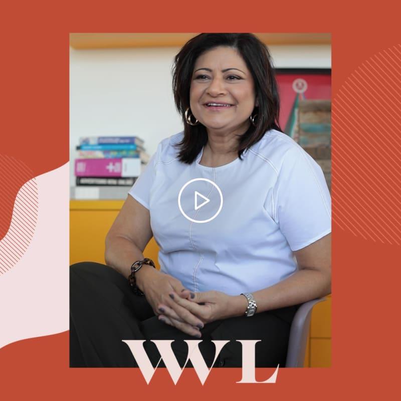 Gal Barradas, publicitária, empreendedora e criado do app Woman Interrupted